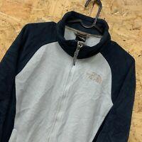 The North Face Full Zip Fleece Jacket   Women's Size Medium M - Blue
