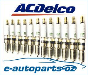 12 x AC Delco Spark Plugs Jaguar XJ12 XJS XJRS XJSC V12 6.0L 5.3L -  R42LTS
