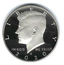 2020-S San Francisco Proof Kennedy Half Dollar Coin!
