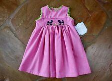 NEW Remember Nguyen Black Poodle Dress 18 mths Girls Pink