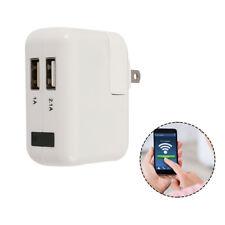 WiFi HD 1080P USB Wall Charger Mini Spy Motion Hidden Camera Power Adapter US