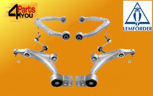 LEMFORDER SET KIT ALFA ROMEO 159 BRERA SPIDER 939 FRONT LOWER UPPER ARMS LINKS
