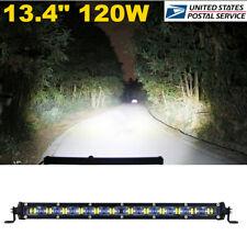 13.4'' 120W 12000LM Aluminum 6D Spot Beam Car SUV Off Road LED Work Light Bar X1