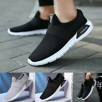 Men's Sneakers BLACK Breathable Casual Sports Athletic Running Shoes Wholesale