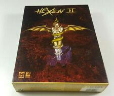 HEXEN II ~  PC Big Box Spiel OVP CIB Deutsche Ver. sgZ VGC Complete Sammler