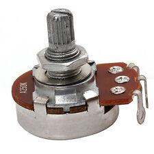5pcs A250k OHM Audio POTS Guitar Potentiometer 24mm Base for Electric Guitar