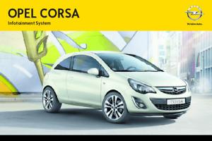 Opel Corsa Manual de Infotainment System 2011, 2012, 2013, 2014 Español