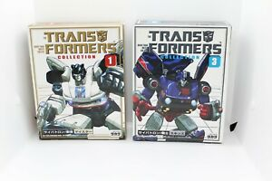 (Empty Boxes) Transformers G1 Jazz and Skids Reissue Takara Collection
