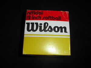 Wilson A9063 TN-Poly Core Leather Softball VINTAGE TN-100