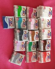 Fimo polymer clay x 30 blocks, old shop stock, closed business, wholesale