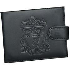 Liverpool Football Club - Embossed Club Crest Leather Bi Fold Wallet New In Box