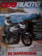 Dueruote 77 2011 Suzuki V-Strom 650ABS. Moto Ducati Streetfighter S, Honda [Q70]