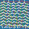 Masuo Ikeda Sumida River Japanese Furoshiki  Eco Wrap Bag Tapestry 48x48cm Japan