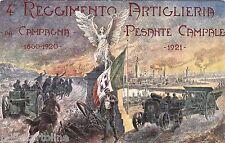 # MILITARI:  4° REGGIMENTO ARTIGLIERIA PESANTE CAMPALE