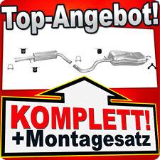 Auspuff VW GOLF 4 IV 1.6 FSI 1.8 125PS 2.0 & NEW BEETLE 2.0 Auspuffanlage 010C