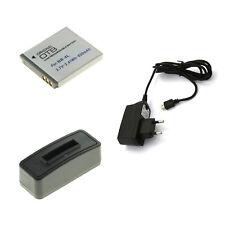 Akku und USB Ladegerät für Canon Ixus 100 IS Ixus 110 IS Ixus 115 HS Ixus 120 IS