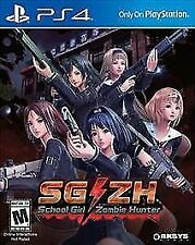 School Girl / Zombie Hunter Playstation 4 Game Brand New and Sealed