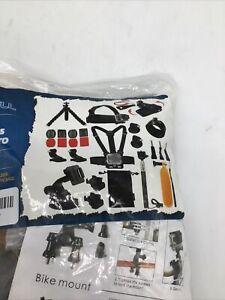 Luxebell Accessories Kit For Akaso Ek5000 Ek7000 4K Wifi Dji Osmo GoPro Hero