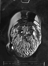 LARGE OLD FASHIONED SANTA FACE PIECE C185  mold Chocolate Candy plaster molds