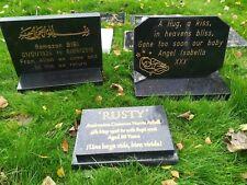 Personalised Granite Memorial Grave Plaque Stone Engraved