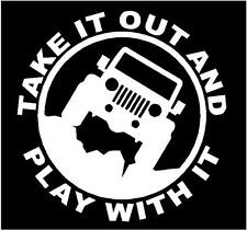 JEEP Decal sticker TJ YJ CJ Wrangler Rubicon Renegade Liberty Cherokee Patriot