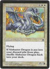 Magic the Gathering MTG Portal Alabaster Dragon Card a