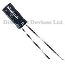 10uF 50V   Electrolytic  Capacitor 105C