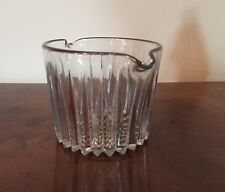 Antique French Crystal Glass Wine Rinser 19th century Heavy Baccarat Quality