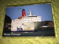 Stena Line STENA EUROPE Large Fridge Magnet Car Ferry Ro-Ro