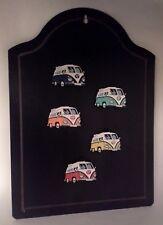 5 x 3D PVC VW Volkswagen Campervan -Classic Retro Fridge Magnets - Cool Gift
