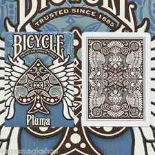Pluma Blue Deck Bicycle Playing Cards Poker Size USPCC Limited Ed. New Sealed