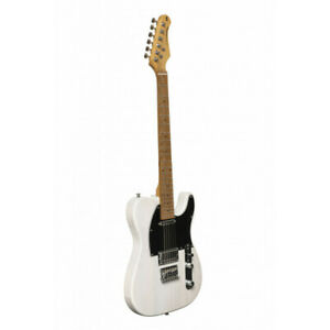 Stagg SET-PLUS WHB - Guitare électrique Vintage série ''T''- plus - blanche