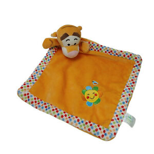 Disney Baby Tigger Lovey Security Blanket Washed and Clean Plush Soft Toy