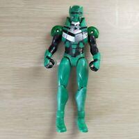 "Power Rangers Jungle Fury 6"" Action Figure Green Ranger Bandai 2007"