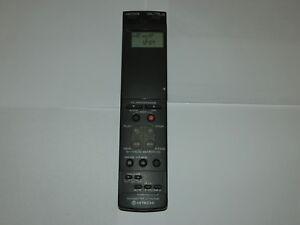 Hitachi VT-RM723E VCR Video Remote Control Genuine Original Hitachi Branded