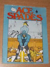 ACE OF SPADES VOL 1 #1 SUMMER 1973 CRUSH DICE COMICS US MAGAZINE~
