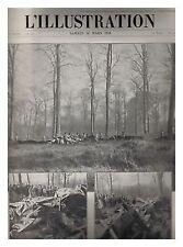 L'ILLUSTRATION 3915 03/1918 PERONNE FLAMENG TOMMY
