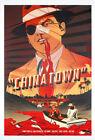 CHINATOWN Jack Nicholson Faye Dunaway MOVIE POSTER Mondo Art Print Zi Xu RARE