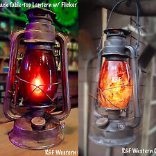Vintage Style Industrial-Style Electric Railroad Lanterns, by R&FWC