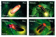 FIREFLY Insect Bugs Beetle Fauna Malaysia 2010 MNH Stamps