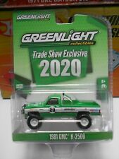 Greenlight 1981 GMC K-2500 Trade Show Exclusive Squarebody Real Riders