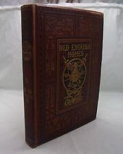 OLD ENGLISH HOMES SKETCH-BOOK ANTIQUE 19th CENTURY IGHTHAM PENSHURST KNOLE ETC