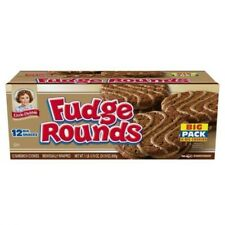 "LITTLE DEBBIE 2 pack ""FUDGE ROUNDS"" BIG PACK (24 COUNT SNACKS)"