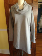 H By Halston 2x Women's Gray Knit Stretch Blouse-Darling!!!