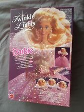 Twinkle Lights Barbie Puppe 10390 Mattel - Vintage 1993 Neu & Ovp NrfB