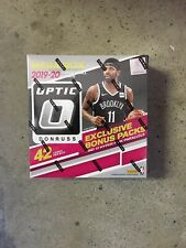 2019-20 Panini Optic Basketball Mega Box 42 Cards 10 Hyper Pink Parallels Sealed