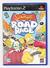 THE SIMPSONS ROAD RAGE - PLAYSTATION 2 PS2 PLAY STATION - PAL ESPAÑA LOS SIMPSON