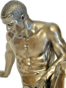 Body talk Figurine Male Nude Sculpture Erotic Act Mann - 20420
