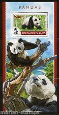 SOLOMON ISLANDS 2015 PANDAS  SOUVENIR SHEET   MINT NH