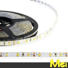 BN11 striscia LED 12V luce AMBRA 2700K 60 SMD 2835 IP65  IMPERMEABILE 5MT